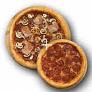 Комбо «Пицца острая с чили» 1/600 + Пицца «Пепперони» 1/300 .