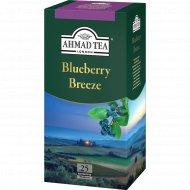 Чай зеленый«Ahmad» с голубикой, с ярлыком, 25х1.8 г.