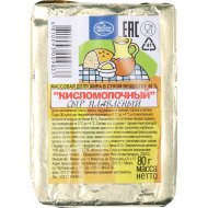 Сыр плавленый «Кисломолочный» 45 %, 80 г