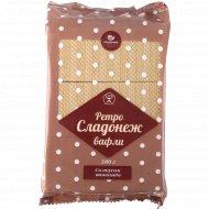 Вафли «Ретро-Сладонеж» со вкусом шоколада, 380 г.
