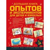 Книга «Большая книга опытов и экспериментов для маленьких детей».