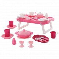 Набор детской посуды «Ретро» с подносом 29 элементов.