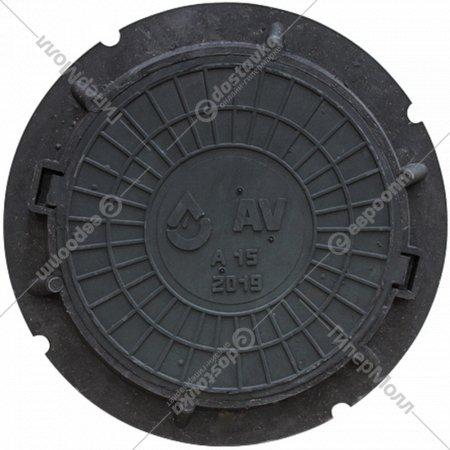 Люк «AV Engineering» садовый А15 черный.