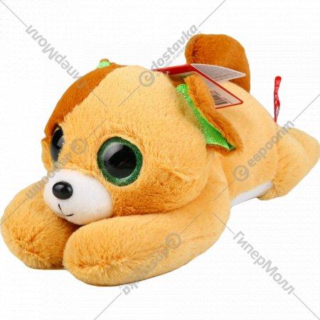 Игрушка «Пес глазастик» мягконабивная.