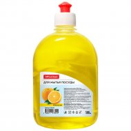 Средство для мытья посуды «OfficeClean» апельсин, пуш-пул, 500 мл.