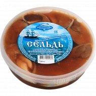 Сельдь атлантическая «Смоленские деликатесы» пряного посола, 700 г.