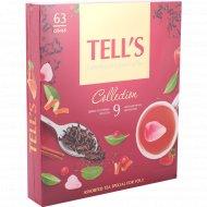 Набор чая «Tell's» 9 видов, 63x1.5 г