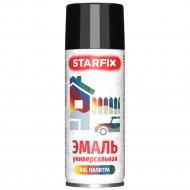 Краска-эмаль универсальная «Starfix» 9017, 520 мл. черный.
