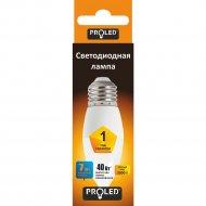 Светодиодная лампа «Proled» C37 7W 3000K E27.