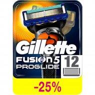 Сменные кассеты для бритья «Gillette» Fusion ProGlide, 12 шт