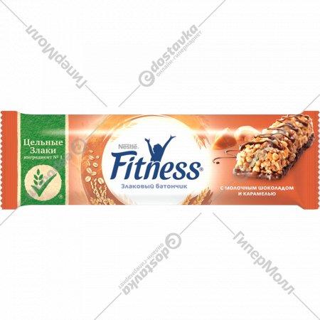 Батончик «Fitness» молочным шоколадом и карамелью, 23.5 г.