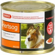 Консервы мясная для животных «Hertsog» 525 г.