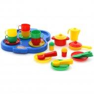 Набор детской посуды «Янина» с подносом на 6 персон.