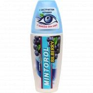 Освежитель полости рта «Mintorol» черника.