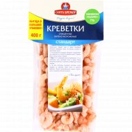 Креветки очищенные «Стандарт» варено-мороженые, 400 г.