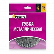 Губка металлическая «Paterra» оцинкованная, плетенка, 40 г.