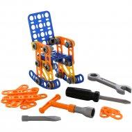 Конструктор «Изобретатель. Кресло-качалка №1» 58 элементов.
