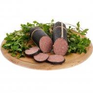 Колбаса салями «Сервелат Барбадос» высший сорт, 1 кг., фасовка 0.45-0.55 кг