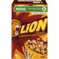 Готовый завтрак «Lion» карамельно-шоколадный, 230 г.