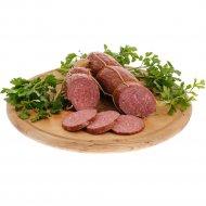Колбаса салями «Сервелат Финский особый» высший сорт, 1 кг., фасовка 0.3-0.6 кг