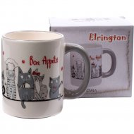 Кружка «Elrington» Bon appetit cat, 350 мл