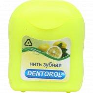Зубная нить «Dentorol» 65 метров с лимоном.