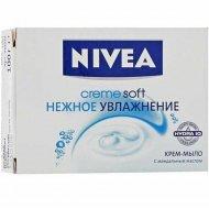 Крем мыло «Nivea» нежное увлажнение, 100 г.