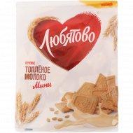 Печенье сахарное «Любятово» топленое молоко, 230 г