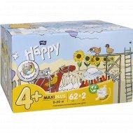 Подгузники «Bella Baby Happy maxi plus» размер 5, 9-20 кг, 62 шт x 2 уп