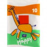 Платочки гигиенические носовые «BELL BABY HAPPY» 3сл, 10 шт.