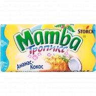 Жевательные конфеты «Mamba» персик и маракуйи 26.5 г.