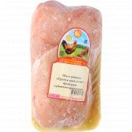 Мясо птицы «Грудка цыплёнка-бройлера» глубокозамороженная 1 кг., фасовка 0.5-0.7 кг