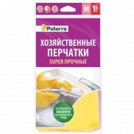 Перчатки резиновые «Paterra» размер M.