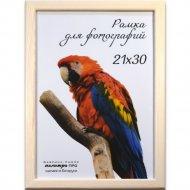 Рамка деревянная со стеклом, Д18КЛ, 21x30 см.