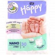 Подгузники «Bella Baby Happy Nano» nano, до 0,7 кг, 30 шт.