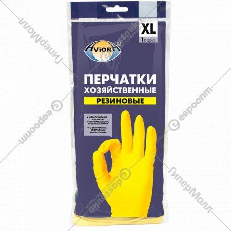 Перчатки резиновые «Aviora» размер ХL.