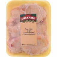 Мясо птицы «Бедро цыплёнка-бройлера» глубокозамороженная 1 кг., фасовка 0.7-1 кг