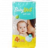Подгузники «Baby Likes» размер 4, 10-18 кг, 50 шт.