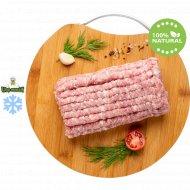 Фарш из свинины замороженный 1 кг.
