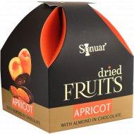 Конфеты «Apricot» курага с минадалем в шоколаде, 150 г.