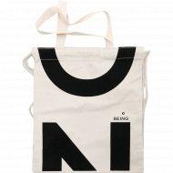 Сумка-шоппер «Mon Ami» бежевая, размер: 33х38 см.