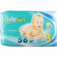 Подгузники «Baby Likes» размер 3, 4-9 кг, 56 шт.
