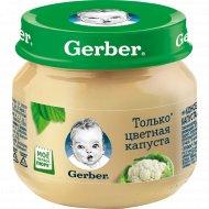 Детское пюре «Gerber» цветная капуста 80 г