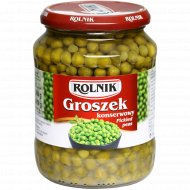 Горошек зелёный «Rolnik» 690 г.