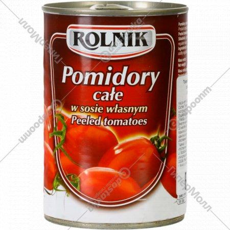 Томаты целые «Rolnik» стерилизованные 400 г.