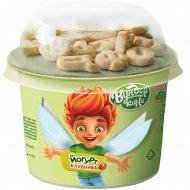 Йогурт «Вундер кини» клубника с печеньем сливочно-ванильным, 2.5%, 108 г.
