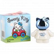 Душистая вода «Sweety kitty nancy» для детей, 20 мл.