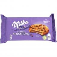 Печенье «Milka Sensations» с какао и молочным шоколадом, 156 г