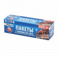 Пакеты для замораживания «Paterra» zip-lock, 18х20 см, 25 шт