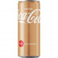 Напиток «Coca-Cola» ванилла, 330 мл.